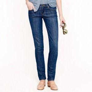 J. Crew Matchstick Dark Wash Stretch Jeans 26R